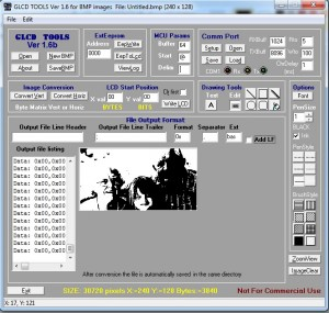 glcd tools for bmp images2