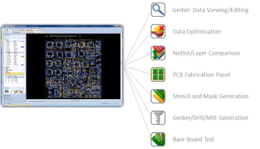 دانلود نرم افزار DownStream CAM350 12.1, BluePrint 5.1