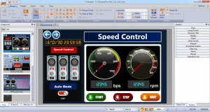 نرم افزار HMI سری P5 شرکت Fatek