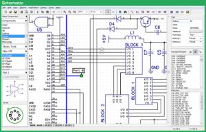 طراحی شماتیک مدارات الکترونیک
