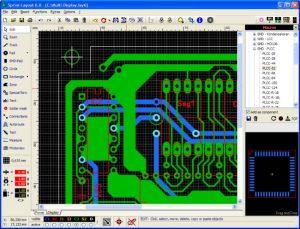 نرم افزاری برای طراحی فیبر مدارچاپی