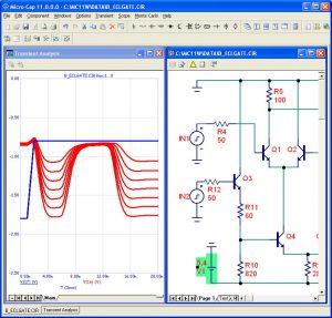شبیه سازی مدارات الکترونیک