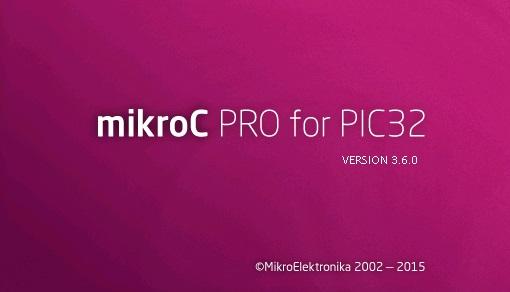 نرم افزار mikroC PRO for PIC32